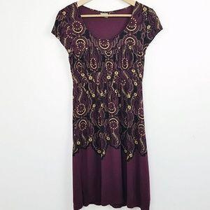 Athleta Purple Dress   Medium